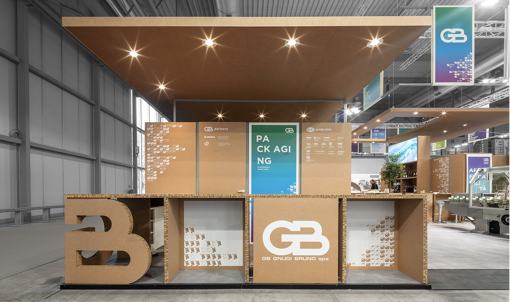 SEGB - gb exhibit pavilion. milan