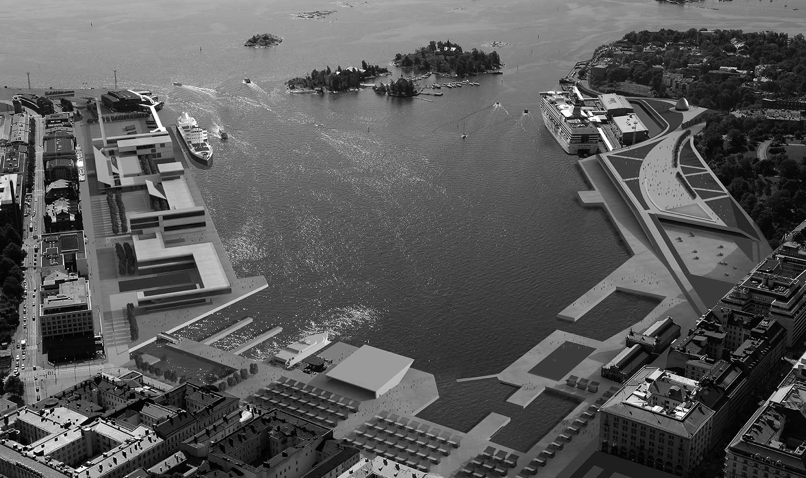 MSHH – south harbour masterplan. helsinki