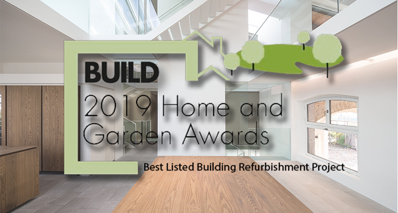 build awards 2019 best refurbishment project. london