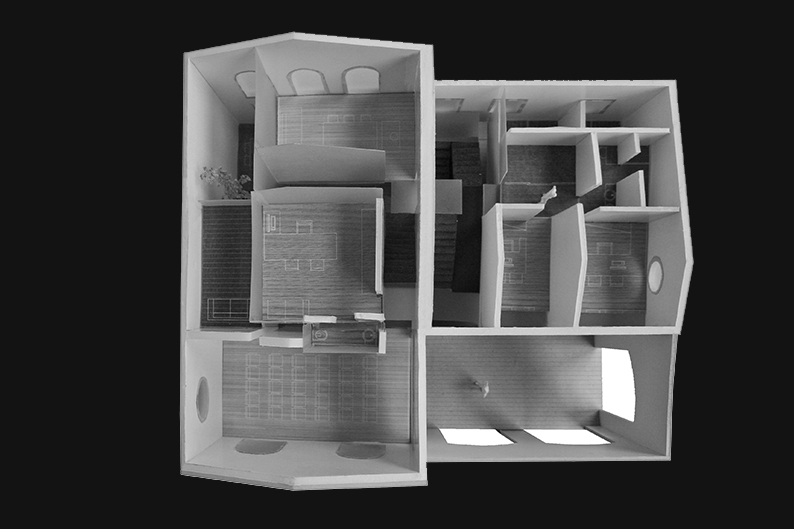hlbh houselevel homeoffice. first prize. reggio emilia
