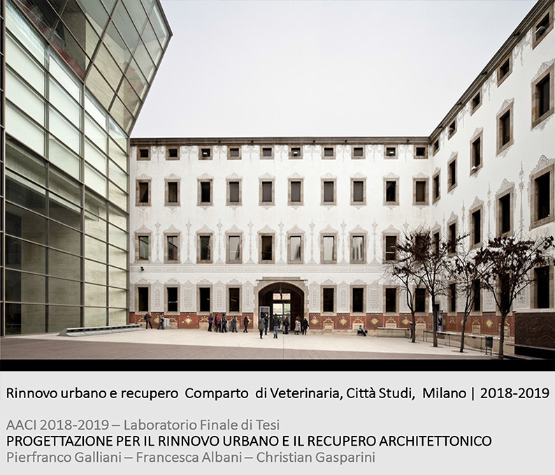 polimi ads II. veterinary medicine campus. milan